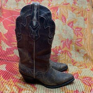 J.B. Dillon Cowboy Boots Genuine Goat Leather